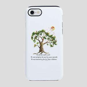 Kenyan Nature Proverb iPhone 8/7 Tough Case