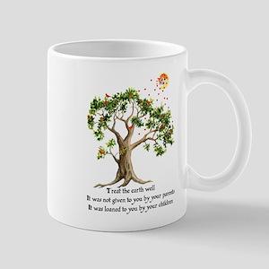 Kenyan Nature Proverb 11 oz Ceramic Mug