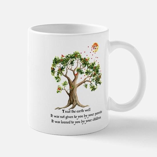 Kenyan Nature Proverb Mug