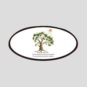 Kenyan Nature Proverb Patch