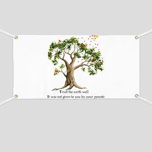 Kenyan Nature Proverb Banner