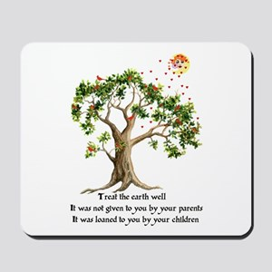 Kenyan Nature Proverb Mousepad