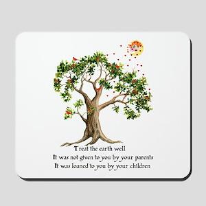 Kenyan Nature Proverb Mousepad