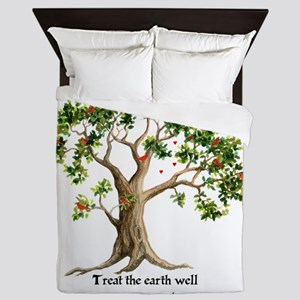 Kenyan Nature Proverb Queen Duvet