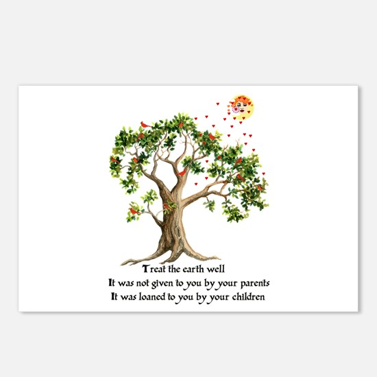 Kenyan Nature Proverb Postcards (Package of 8)