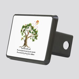 Kenyan Nature Proverb Rectangular Hitch Cover