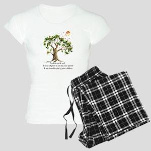 Kenyan Nature Proverb Women's Light Pajamas