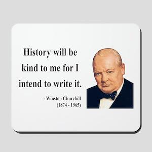 Winston Churchill 20 Mousepad