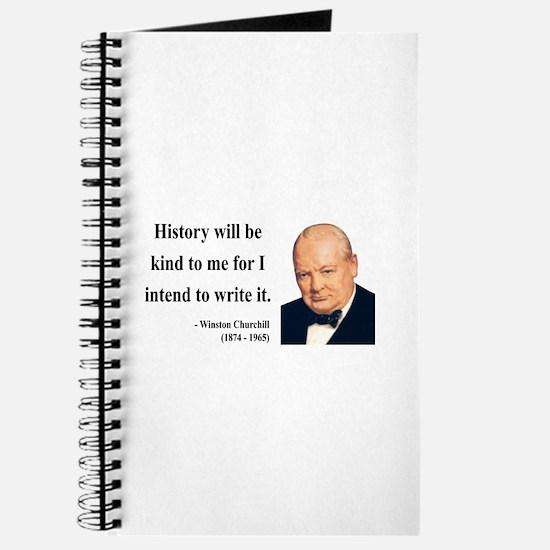 Winston Churchill 20 Journal