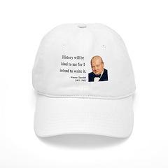 Winston Churchill 20 Baseball Cap