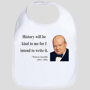 Winston Churchill 20 Bib