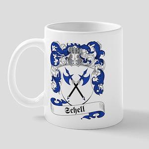 Schell Family Crest Mug