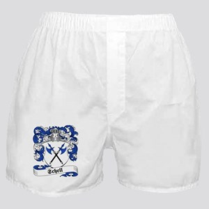 Schell Family Crest Boxer Shorts