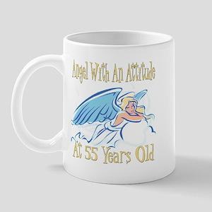 Angel Attitude 55th Mug