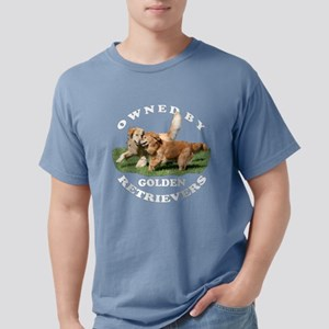 Owned by Golden Retrievers Wmn's T-Shirt