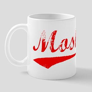 Vintage Moshe (Red) Mug