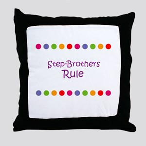 Step-Brothers Rule Throw Pillow