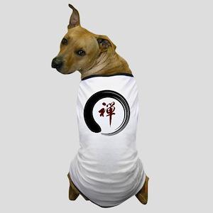 Zen Namaste Circle Meditation Prayer O Dog T-Shirt