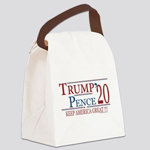TRUMP | Trump Pence 2020 Keep Ame Canvas Lunch Bag