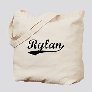 Vintage Rylan (Black) Tote Bag