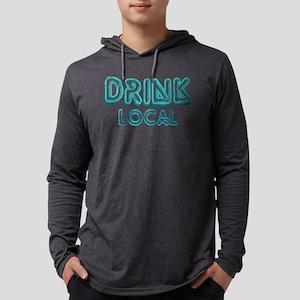 Drink Local Blue Long Sleeve T-Shirt