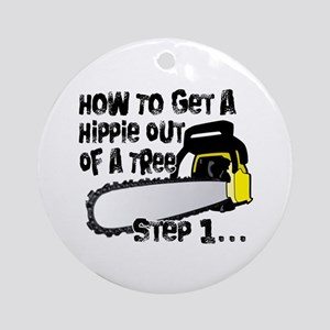 Got Hippies In Your Trees? Ornament (Round)