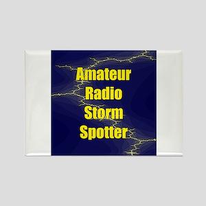Amateur Radio Storm Spotter Rectangle Magnet