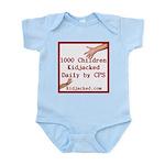 1000 Children Kidjacked Infant Bodysuit