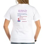 2010 Mother's Day Protest Women's V-Neck T-Shirt