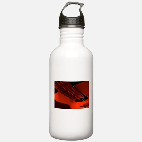 Abstract guitar. Water Bottle