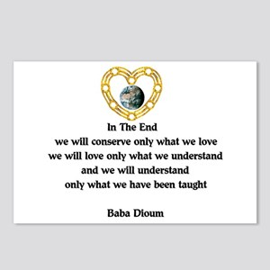 Baba Dioum Quote Postcards (Package of 8)