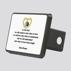 Baba Dioum Quote Rectangular Hitch Cover