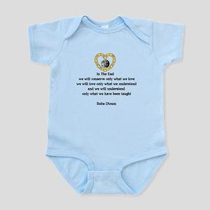 Baba Dioum Quote Baby Light Bodysuit