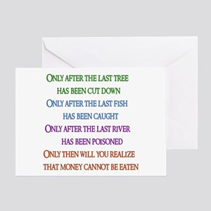 Nature's Lament Greeting Card