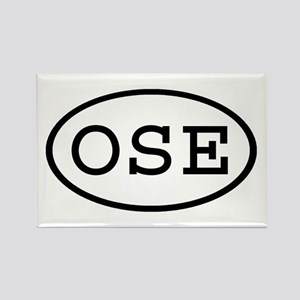 OSE Oval Rectangle Magnet
