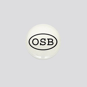 OSB Oval Mini Button