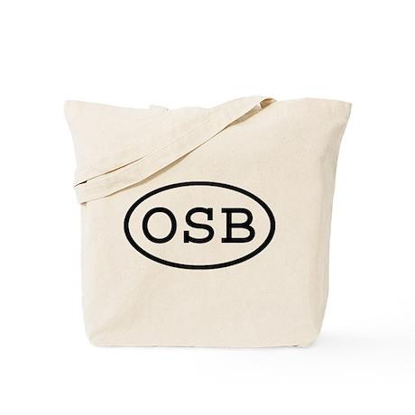 OSB Oval Tote Bag