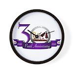 Bca 30th Anniversary Wall Clock