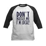 Don't Hassle Me! Kids Baseball Jersey