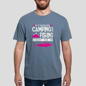 Camping And Fishing T Shirt T-Shirt