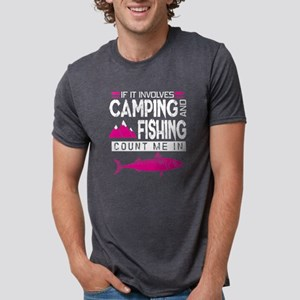 Camping And Fishing T Shirt T-Shirt