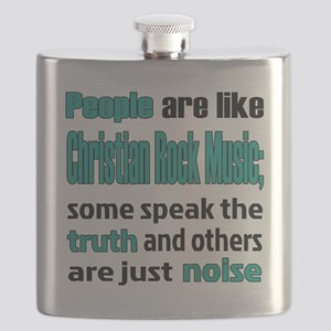 People are like Christian Rock Flask
