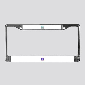People are like Christian Rock License Plate Frame