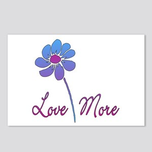 Love More Daisy Postcards (Package of 8)