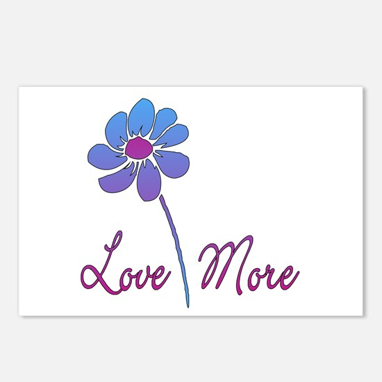 Love More Postcards (Package of 8)