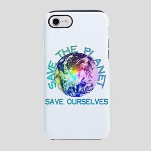 Rainbow Planet iPhone 8/7 Tough Case