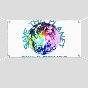 Rainbow Planet Banner