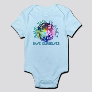 Rainbow Planet Baby Light Bodysuit