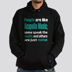 People are like Acapella Hoodie (dark)