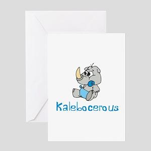 Kalebnocerous Greeting Card